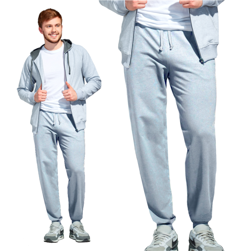 Мужские спортивные брюки, StanJump, 62, Серый меланж (50), S/46