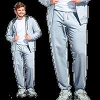 Мужские спортивные брюки, StanJump, 62, Серый меланж (50), M/48