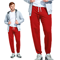 Мужские спортивные брюки, StanJump, 62, Красный (14), XXL/54
