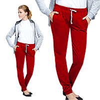 Женские спортивные брюки, StanJumpWomen, 62W, Красный (14), XL/50