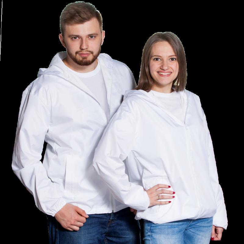 Ветровка промо, StanRain, 59, Белый (10/1), M/48
