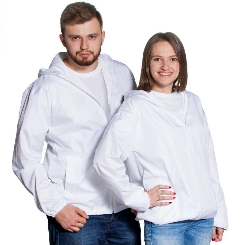 Ветровка промо, StanRain, 59, Белый (10/1), S/46