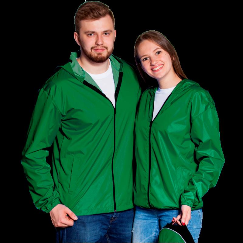 Ветровка промо, StanRain, 59, Зелёный (30), XL/52