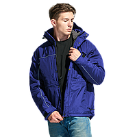 Утепленная куртка на молнии, StanNordic, 31N, Синий (16), S/46