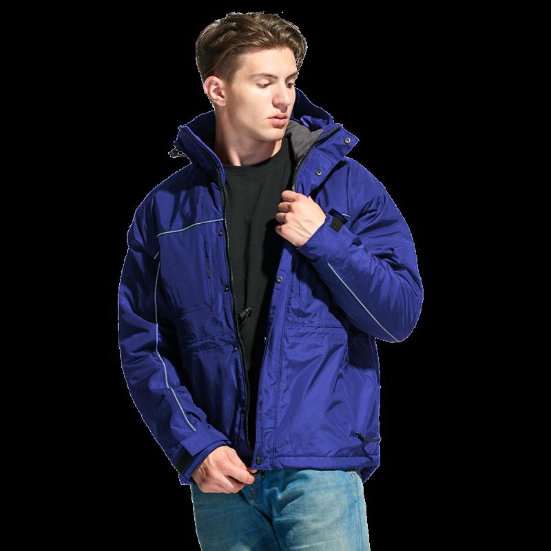Утепленная куртка на молнии, StanNordic, 31N, Синий (16), XS/44
