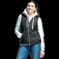 Утепленный женский жилет, StanWinterNewWomen, 26WN, Чёрный (20), S/44