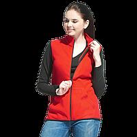 Флисовый женcкий жилет, StanFleeceNewWomen, 28WN, Красный (14), S/44