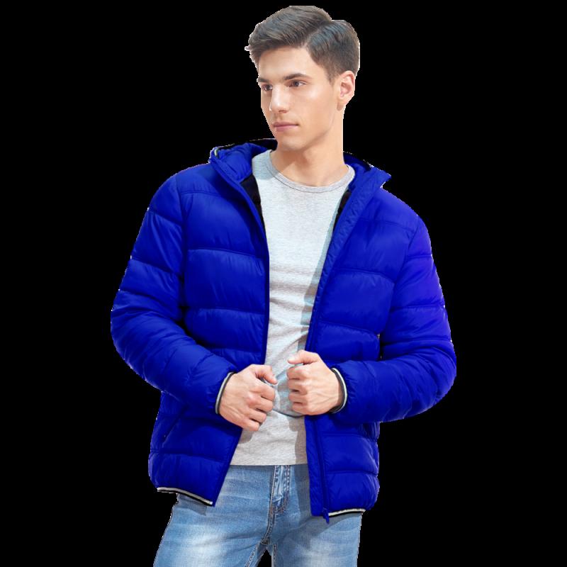 Мужская куртка с капюшоном, StanAir, 81, Синий (16), XXL/54
