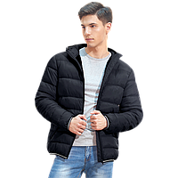 Мужская куртка с капюшоном, StanAir, 81, Чёрный (20), M/48