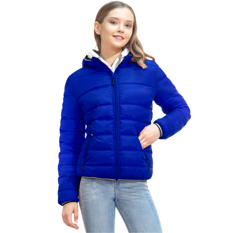Женская куртка с капюшоном, StanAirWomen, 81W, Синий (16), XL/50
