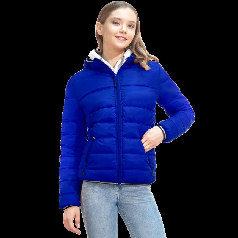 Женская куртка с капюшоном, StanAirWomen, 81W, Синий (16), M/46