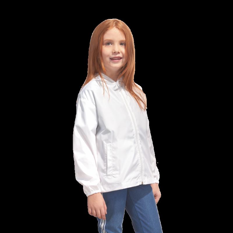 Детская промоветровка, StanRainJunior, 59J, Белый (10), 8 лет