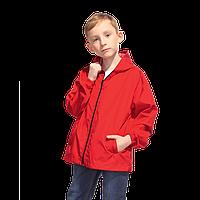 Детская промоветровка, StanRainJunior, 59J, Красный (14), 10 лет