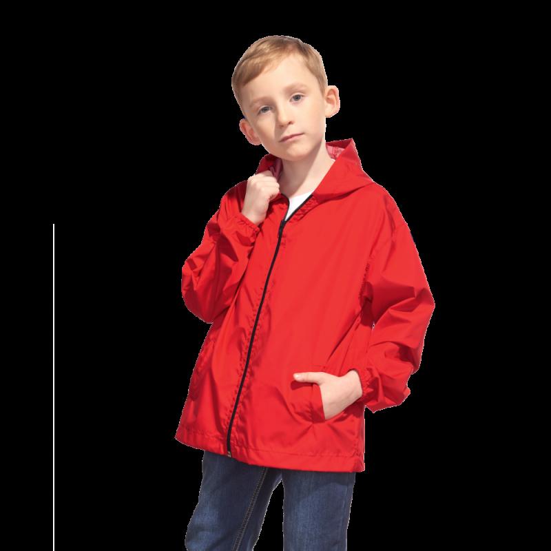 Детская промоветровка, StanRainJunior, 59J, Красный (14), 8 лет
