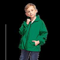 Детская промоветровка, StanRainJunior, 59J, Тёмно-зелёный (130), 8 лет