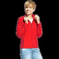 Женская флисовая толстовка, StanSoftWomen, 21W, Красный (14), M/46