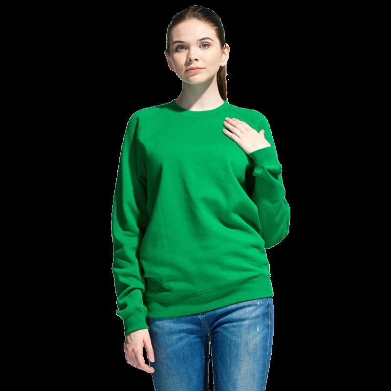 Свитшот унисекс, StanSweatshirt, 53, Зелёный (30), S/46
