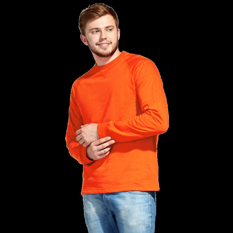 Базовая толстовка унисекс, StanWork, 60, Оранжевый (28), XL/52