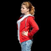 Легкая женская толстовка с капюшоном, StanCoolWomen, 61W, Красный (14), L/48