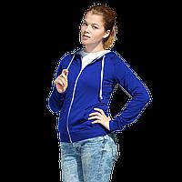 Легкая женская толстовка с капюшоном, StanCoolWomen, 61W, Синий (16), XXL/52