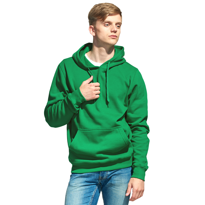 Мужская толстовка «кенгуру» , StanFreedom, 20, Зелёный (30), M/48