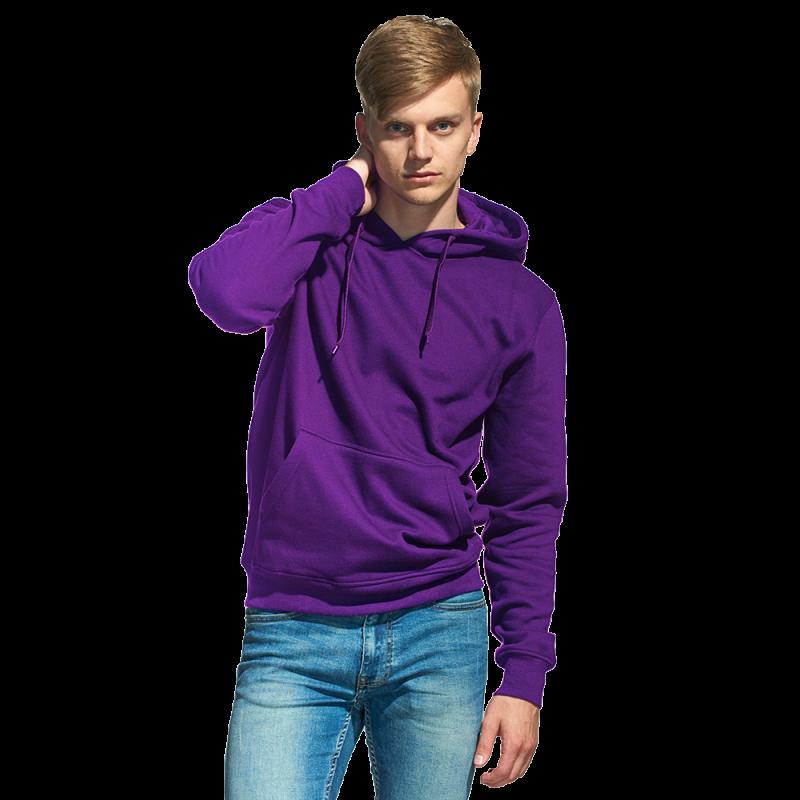 Мужская толстовка «кенгуру» , StanFreedom, 20, Фиолетовый (94), S/46