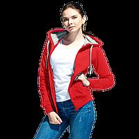 Толстовка женская , StanStyleWomen, 17W, Красный-Серый меланж (14/50), XS/42