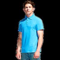 Базовая рубашка поло , StanPremier, 04, Бирюзовый (32), XXXL/56