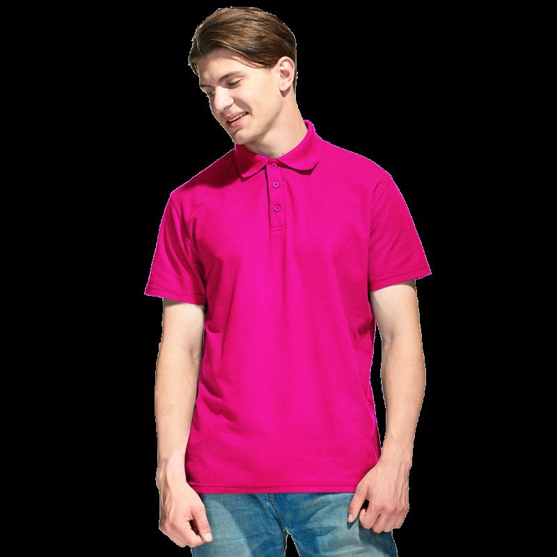 Базовая рубашка поло , StanPremier, 04, Ярко-розовый (92), XL/52