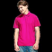 Базовая рубашка поло , StanPremier, 04, Ярко-розовый (92), XXL/54
