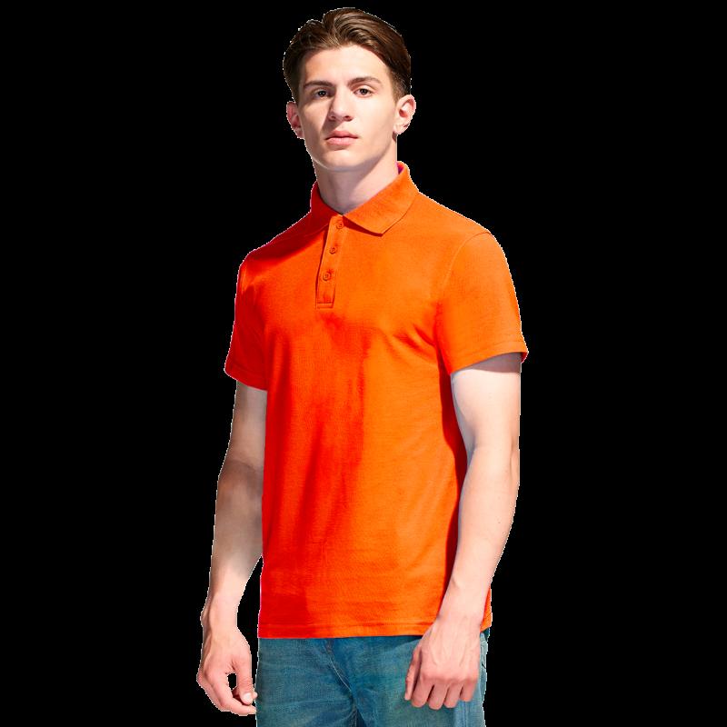 Базовая рубашка поло , StanPremier, 04, Оранжевый (28), XXL/54
