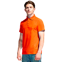 Базовая рубашка поло , StanPremier, 04, Оранжевый (28), XXXL/56