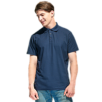 Базовая рубашка поло , StanPremier, 04, Тёмно-синий (46), S/46