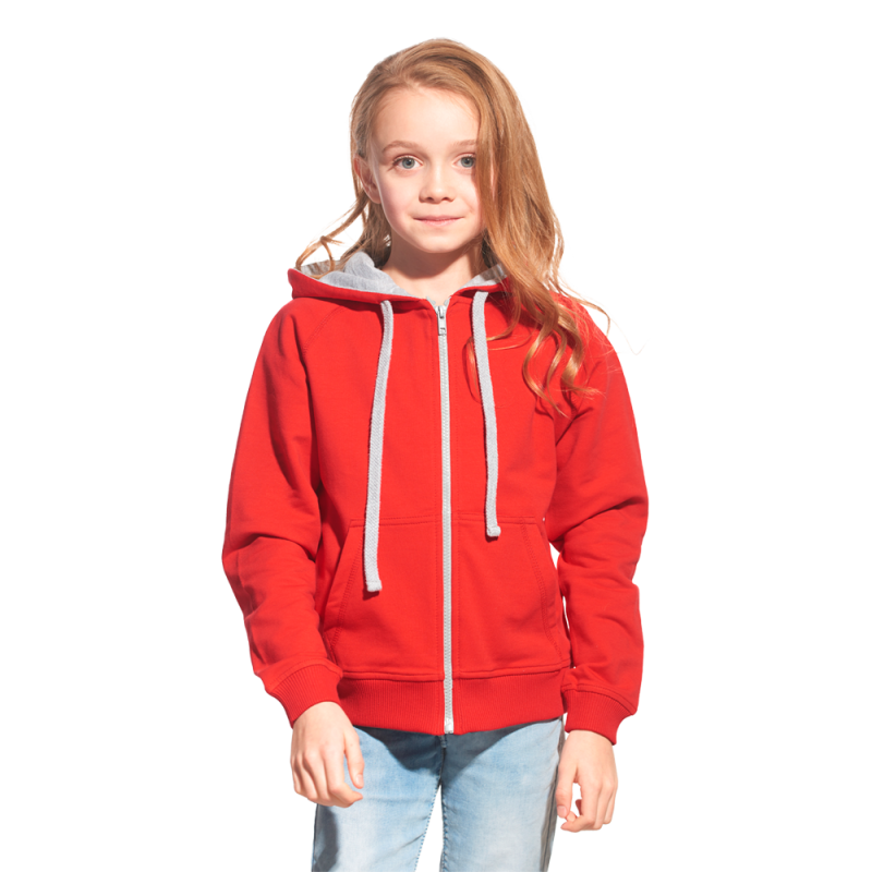 Облегченная детская толстовка , StanCoolJunior, 61J, Красный (14), 10 лет