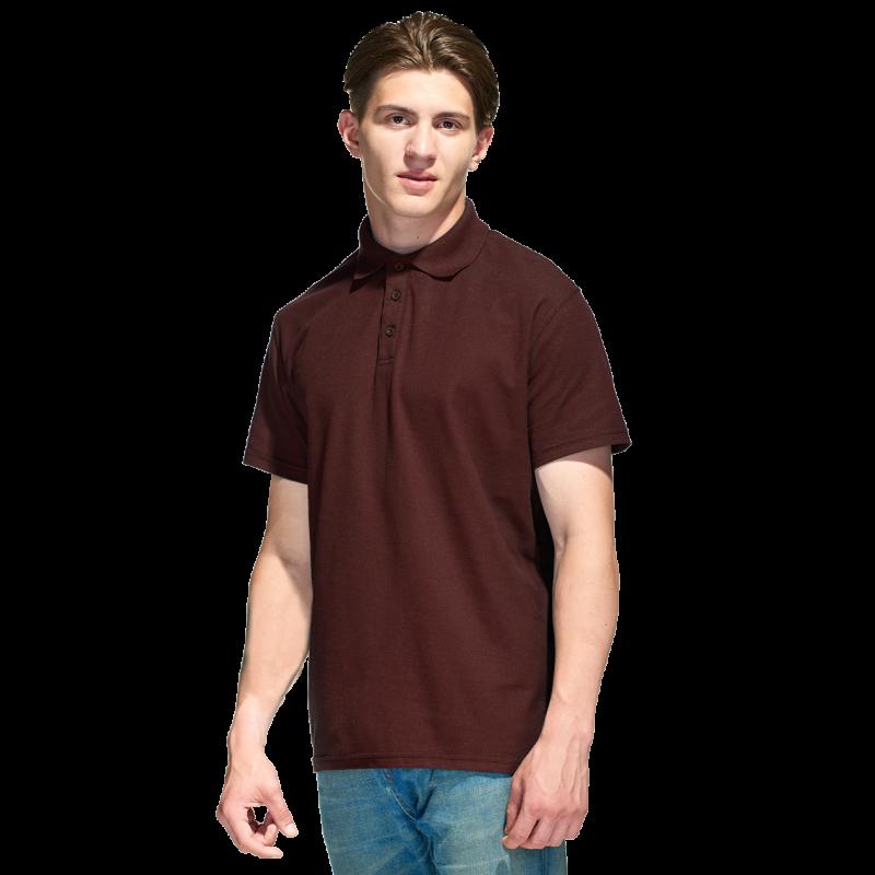 Базовая рубашка поло , StanPremier, 04, Тёмно-Шоколадный (107), XL/52
