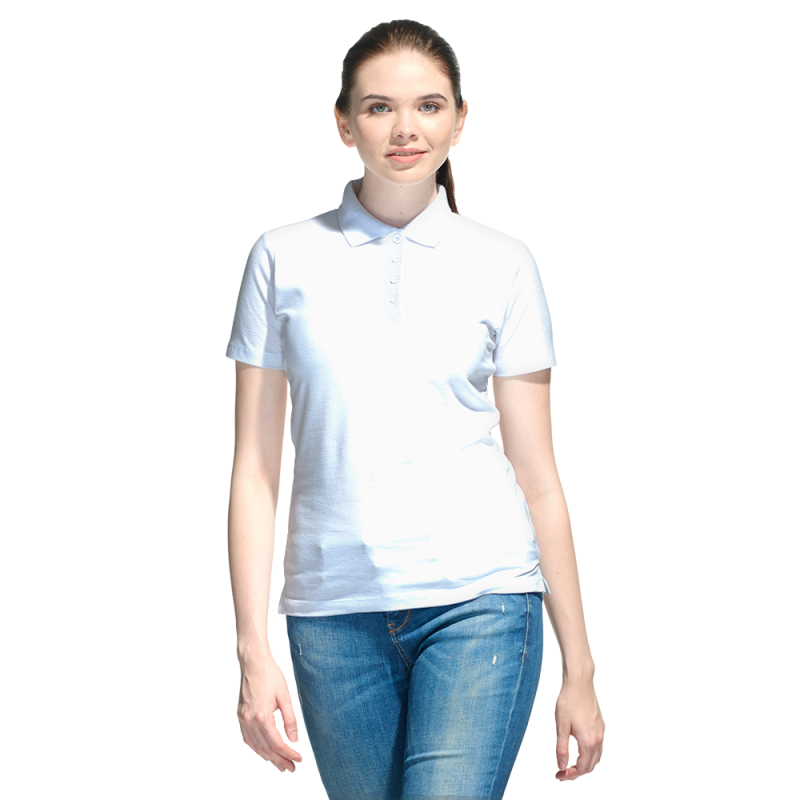 Базовая рубашка поло , StanWomen, 04WL, Белый (10), XXL/52