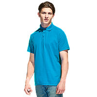 Базовая рубашка поло , StanPremier, 04, Лазурный (40), M/48