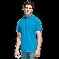 Базовая рубашка поло , StanPremier, 04, Лазурный (40), S/46