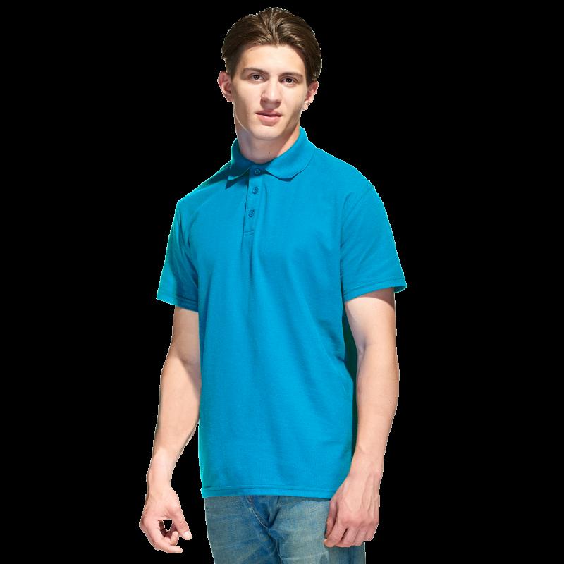 Базовая рубашка поло , StanPremier, 04, Лазурный (40), XXL/54