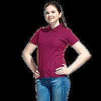 Базовая рубашка поло , StanWomen, 04WL, Бордовый (66), XXL/52