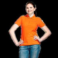 Базовая рубашка поло , StanWomen, 04WL, Оранжевый (28), L/48