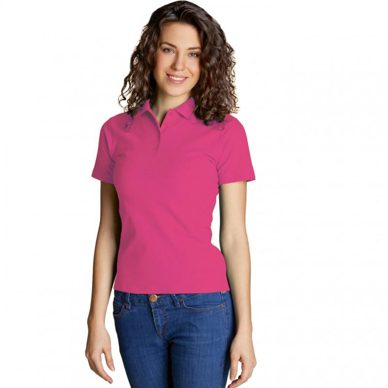 Базовая рубашка поло , StanWomen, 04WL, Тёмно-розовый (48), XXL/52