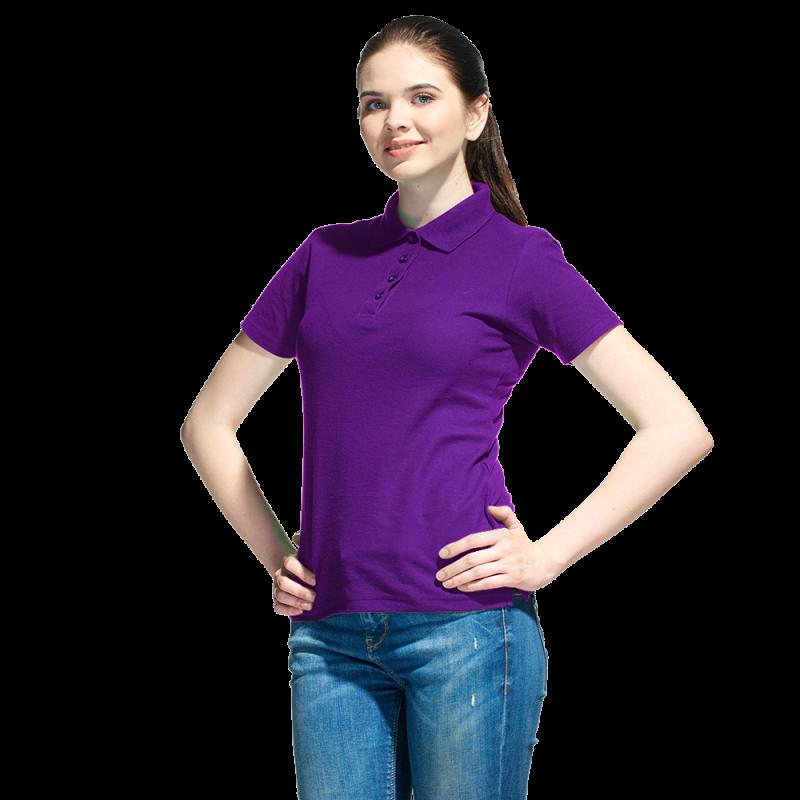 Базовая рубашка поло , StanWomen, 04WL, Фиолетовый (94), L/48