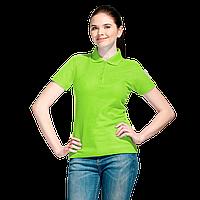 Базовая рубашка поло , StanWomen, 04WL, Ярко-зелёный (26), XS/42