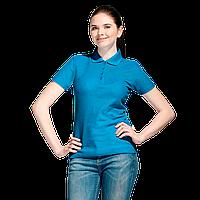 Базовая рубашка поло , StanWomen, 04WL, Лазурный (40), XS/42