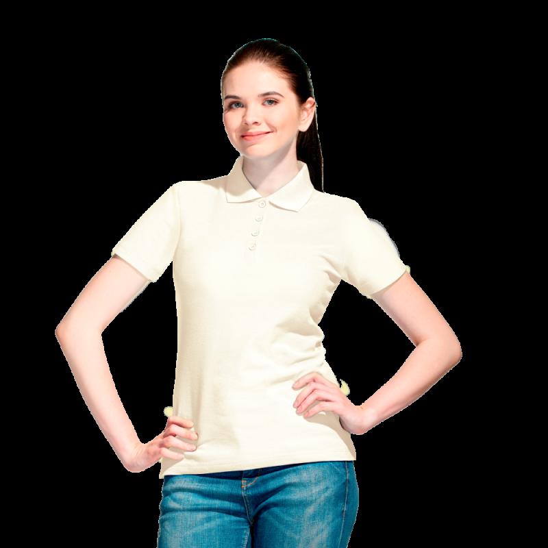 Базовая рубашка поло , StanWomen, 04WL, Белый молочный (102), XXL/52
