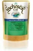 Schesir Паучи для кошек филе цыпленка 100 гр.