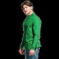 Рубашка поло с длинным рукавом, StanPolo, 04S, Зелёный (30), XXL/54