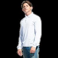 Рубашка поло с длинным рукавом, StanPolo, 04S, Белый (10), XXL/54