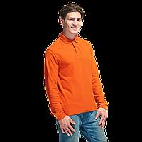 Рубашка поло с длинным рукавом, StanPolo, 04S, Оранжевый (28), L/50